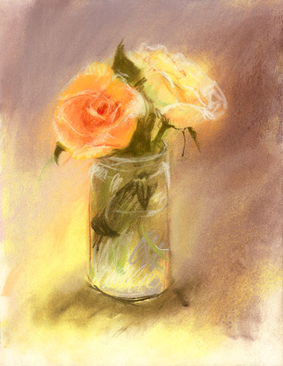 Rose In Glass Jar