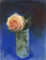 Rose in Glass 2 (Pastel)
